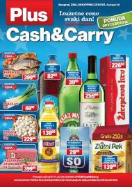 PLUS CASH CARRY AKCIJA - IZUZETNE CENE SVAKI DAN - Akcija do 03.12.2020.
