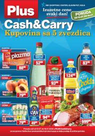PLUS CASH CARRY AKCIJA - IZUZETNE CENE SVAKI DAN - Akcija do 16.07.2020.