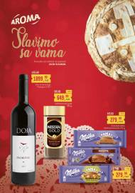 AROMA AKCIJA - SLAVIMO SA VAMA - Akcija sniženja do 08.11.2020.