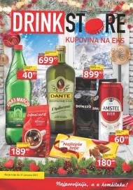 DRINK STORE Katalog - KUPOVINA NA EKS. Super akcija do 31.01.2021.