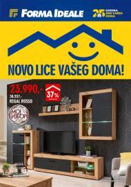 FORMA IDEALE KATALOG - NOVO LICE VAŠEG DOMA! - Akcija do 19.12.2020.
