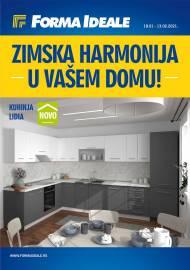 FORMA IDEALE KATALOG - ZIMSKA HARMONIJA U VAŠEM DOMU! - Akcija do 13.02.2021.