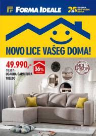 FORMA IDEALE KATALOG - NOVO LICE VAŠEG DOMA! - Akcija do 21.11.2020.