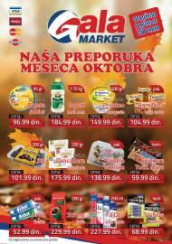 GALA MARKET Katalog - Super akcija do 31.10.2019.