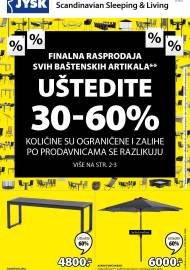 Jysk ponuda - JYSK Katalog - Super akcija od 30.07. DO 12.08.2020.