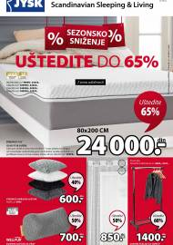 Jysk ponuda - JYSK Katalog - Super akcija od 16.07. DO 29.07.2020.