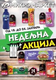 MIKROMARKET - NEDELJNA AKCIJA - Akcija do 24.01.2021.