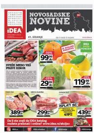 IDEA NOVOSADSKE NOVINE - akcija do 17.10.2019.