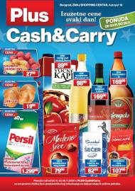 PLUS CASH CARRY AKCIJA - IZUZETNE CENE SVAKI DAN - Akcija do 26.11.2020.