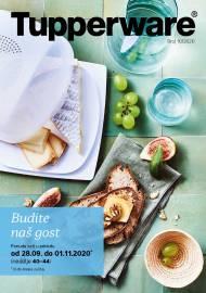 TUPPERWARE Katalog -  BUDITE NAŠ GOST - Akcija sniženja do 01.11.2020.