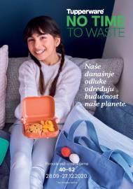 TUPPERWARE Katalog -  NO TIME TO WASTE - AKCIJA SNIŽENJA DO 27.12.2020.