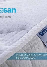 SIMPOSAN - SIMPO Katalog - PONUDA ZA ČLANOVE LOYALTY KLUBA - Akcija sniženja do 30.06.2020.