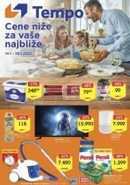 TEMPO Akcija - CENE BLIŽE ZA VAŠE NAJBLIŽE - Super sniženja do 26.01.2021.