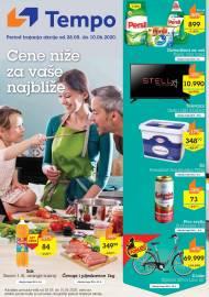 TEMPO Akcija - CENE BLIŽE ZA VAŠE NAJBLIŽE  - Super sniženja do 10.06.2020.