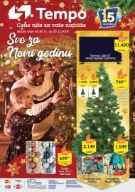 TEMPO Akcija - SVE ZA NOVU GODINU  - Super akcija sniženja do 25.12.2019.