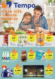 TEMPO Akcija - CENE BLIŽE ZA VAŠE NAJBLIŽE - Super sniženja do 19.08.2020.