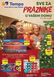 TEMPO Akcija - SVE ZA PRAZNIKE U VAŠEM DOMU - Super sniženja do 23.12.2020.