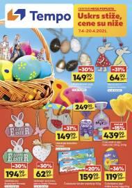 TEMPO Akcija - USKRS STIŽE CENE SU NIŽE - Super sniženja do 20.04.2021.