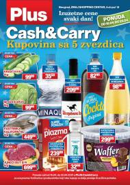 PLUS CASH CARRY AKCIJA - IZUZETNE CENE SVAKI DAN - Akcija do 22.04.2021.