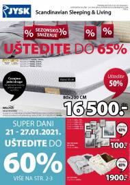 Jysk ponuda - JYSK Katalog - UŠTEDITE DO 65%! AKCIJA SNIŽENJA DO 03.02.2021.