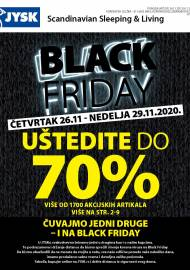 Jysk ponuda - JYSK Katalog - BLACK FRIDAY - Akcija sniženja do 29.11.2020