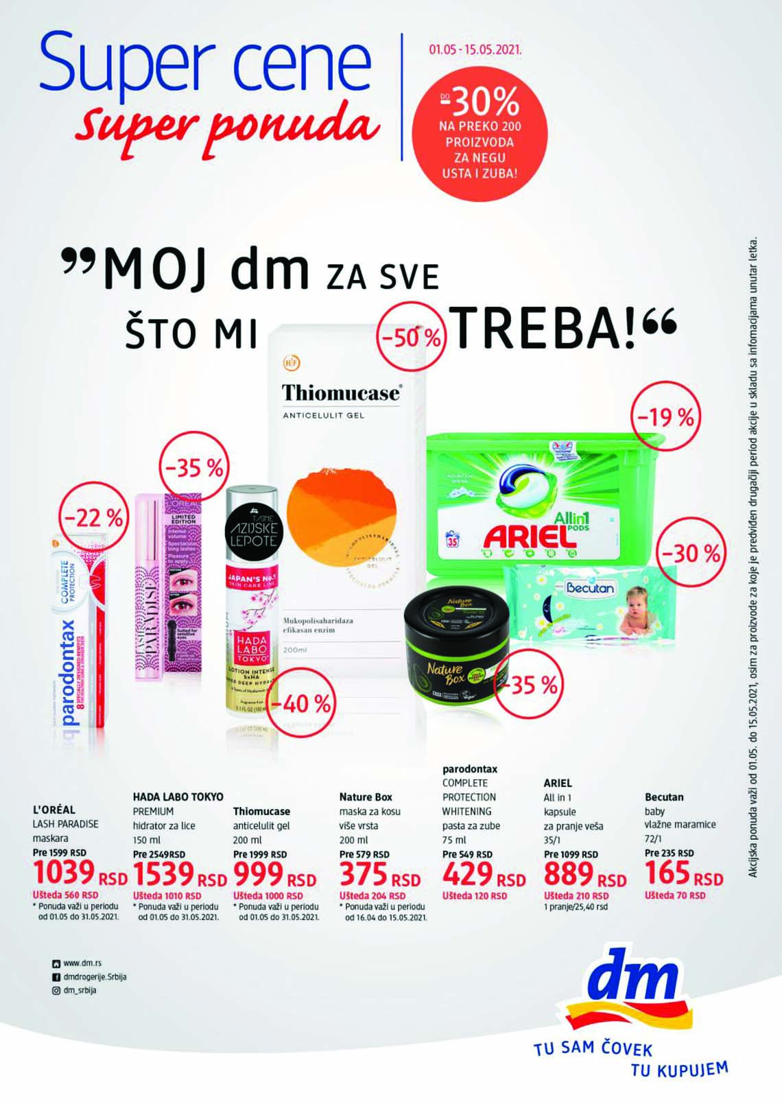 dm EXPRESS Katalog - Akcija do 15.05.2021.