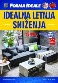 FORMA IDEALE KATALOG - IDEALNA LETNA SNIŽENJA! - Akcija do 28.08.2021.