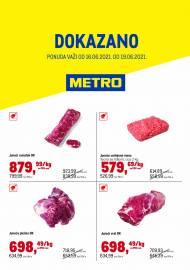 METRO - DOKAZANO - Akcija do 19.06.2021.