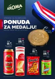 AROMA - PONUDA ZA MEDALJU - Akcija sniženja do 08.08.2021.