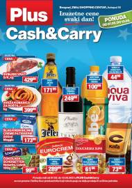 PLUS CASH CARRY AKCIJA - IZUZETNE CENE SVAKI DAN - Akcija do 13.05.2021.