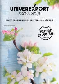 UNIVEREXPORT PREMIUM KATALOG - Akcija sniženja do 31.05.2021.
