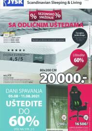 Jysk ponuda - JYSK Katalog - SEZONSKO SNIŽENJE! AKCIJA SNIŽENJA DO 18.08.2021.