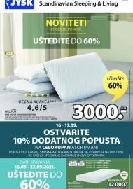 Jysk ponuda - JYSK Katalog - NOVITETI I ODLIČNE PONUDE - Akcija sniženja do 29.09.2021