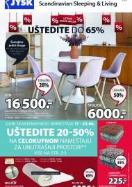 Jysk ponuda - JYSK Katalog - LETNA SUPER AKCIJA - UŠTEDITE DO 65%! AKCIJA SNIŽENJA DO 30.06.2021.